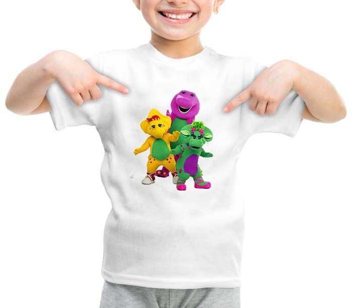 Barney and Friends graphic printed youth toddler tshirt