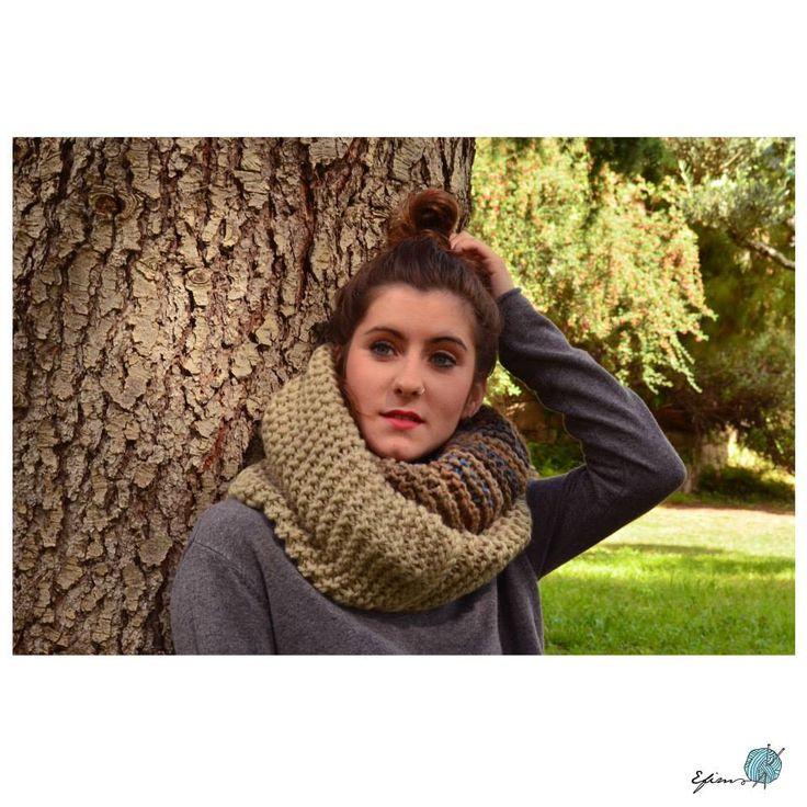 Big Scarf - Kits para tejer lana   Entrefilsimadeixes