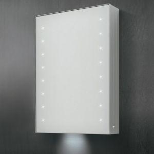 Specchio e specchiera bagno contenitore Vega a LED - Vanità & Casa