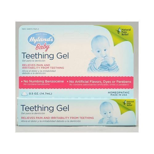 Hyland's Baby Teething Gel - 0.5 Oz Homeopathic Remedies #HYLANDS