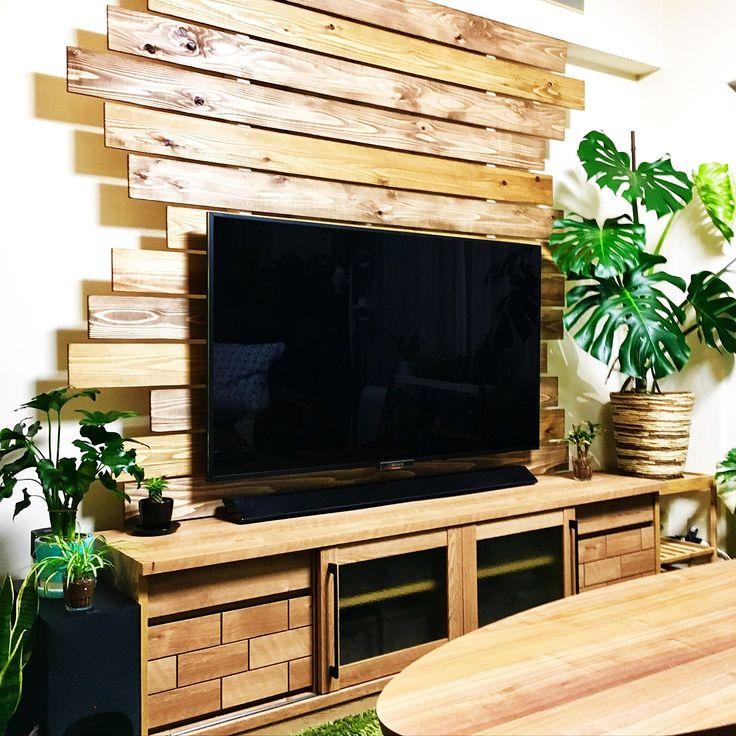 BLACK&DECKER/SONY TV/55インチ/IKEA/植木鉢…などのインテリア実例 - 2017-04-13 21:52:11 | RoomClip(ルームクリップ)