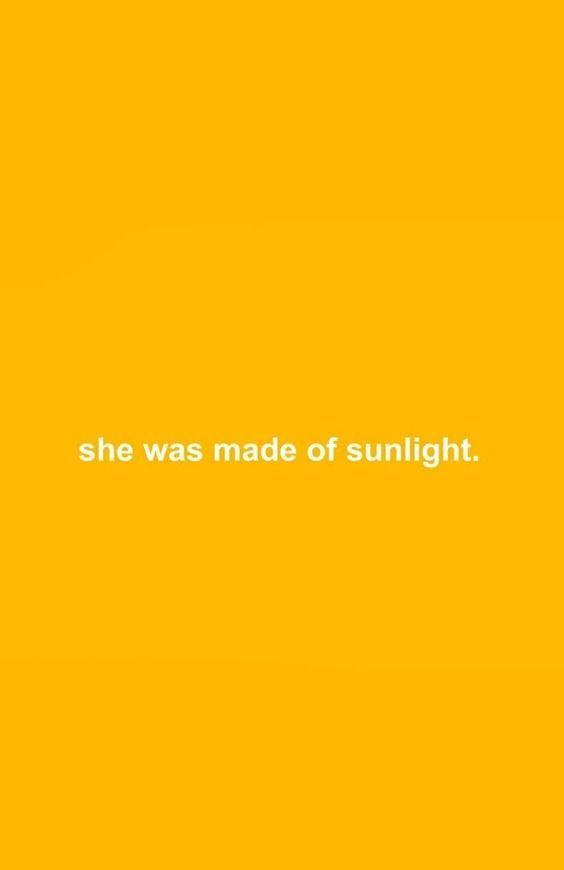 Cute Hufflepuff Wallpaper She Was Made Of Sunlight Color Lemon Aesthetic Yellow