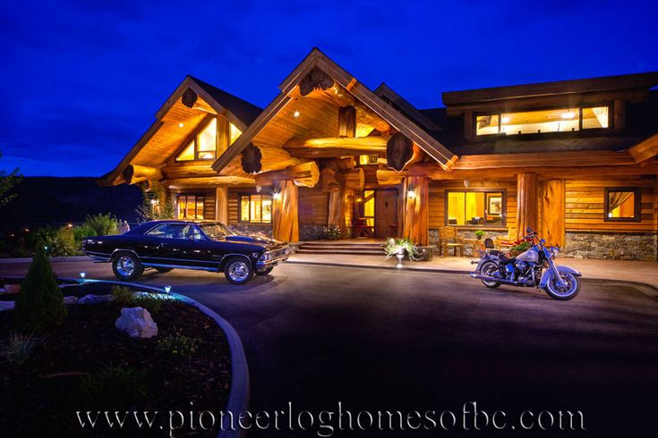pioneer log homes of bc log home pinterest canada voitures et colombie britannique. Black Bedroom Furniture Sets. Home Design Ideas