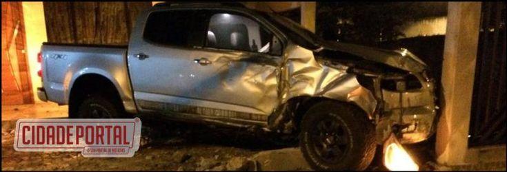 Família de Mariluz é alvo novamente de roubo de Caminhonete, ladrões bateram uma após o roubo