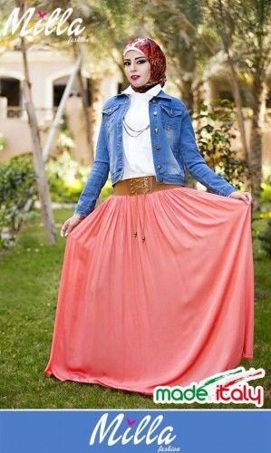 Milla hijab fashion in Egypt | Just Trendy Girls