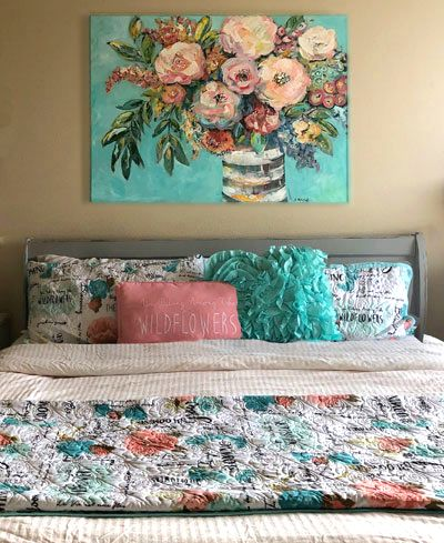 big, bold floral by S. McCall