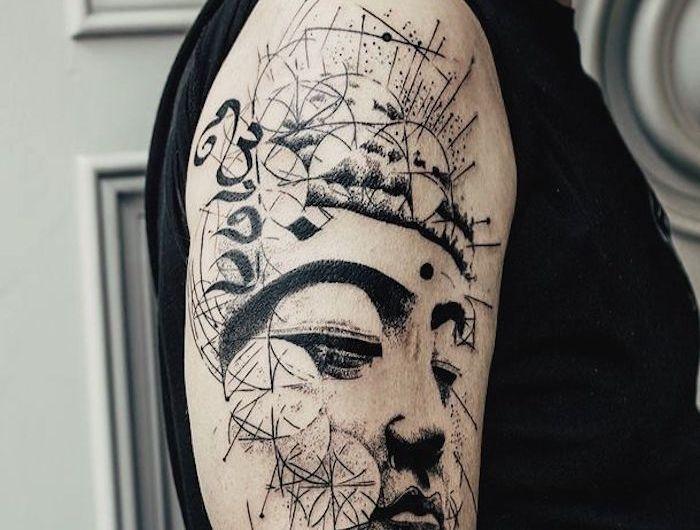 les 25 meilleures id es de la cat gorie tatouages bouddhistes sur pinterest tatouages. Black Bedroom Furniture Sets. Home Design Ideas