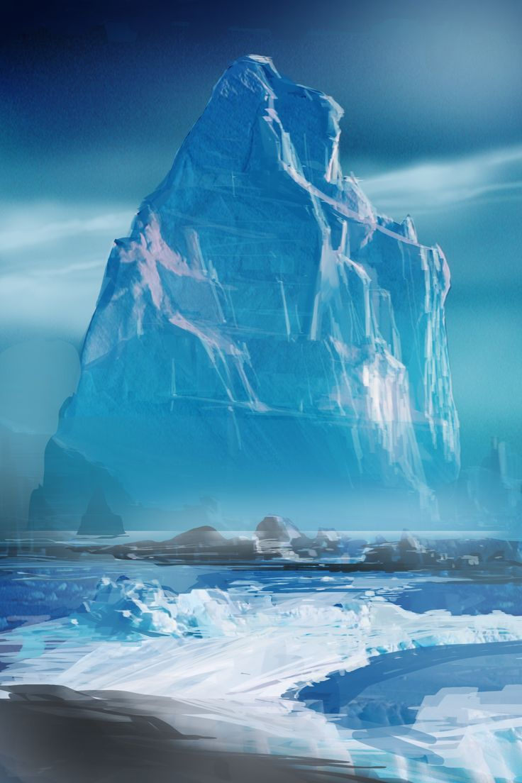 ice world.. concept