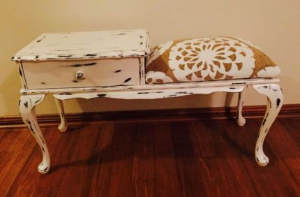 Vintage Phone/Side Table | Buffets