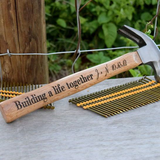 Wedding Gift Hammer : Hammer Gift - Building A Life Together Hammer - Newly Wed Gift Wedding ...