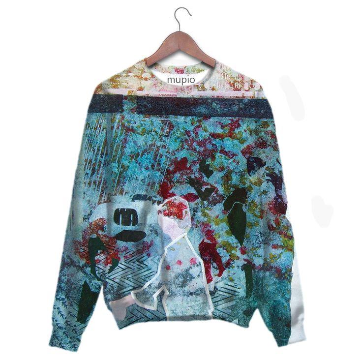 printed sweater Mupio by Artysta i Sztuka Available here: mupio.pl/  designer: Elżbieta Kozera