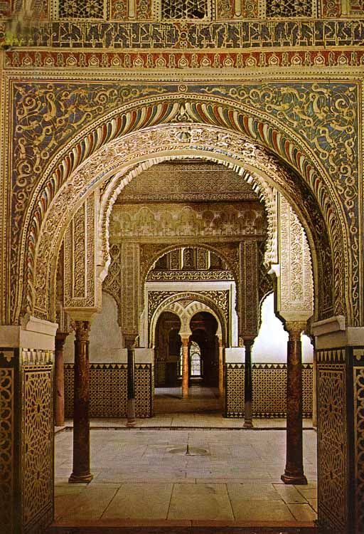SPAIN / ANDALUSIA / Places, towns and villages of Andalusia - El Alcazar, Sevilla España