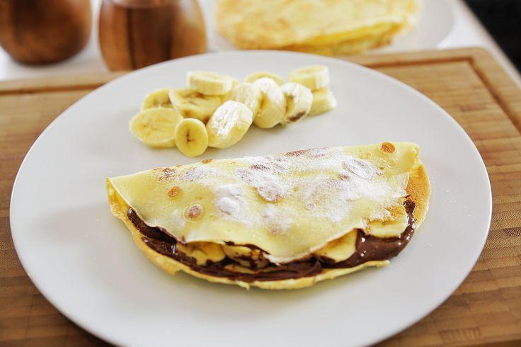 Krep nasıl yapılır ? - Nutella'lı Muzlu Krep - İdil Tatari