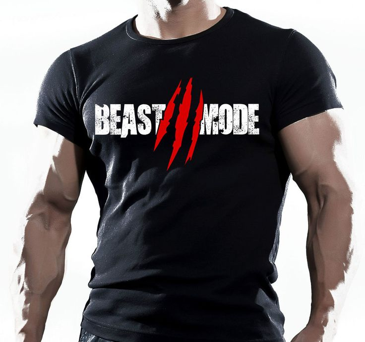 Beast Functional Gym Training Workout Fitness Strength Sport Black T-Shirt MMA in Clothes, Shoes & Accessories, Men's Clothing, T-Shirts | eBay