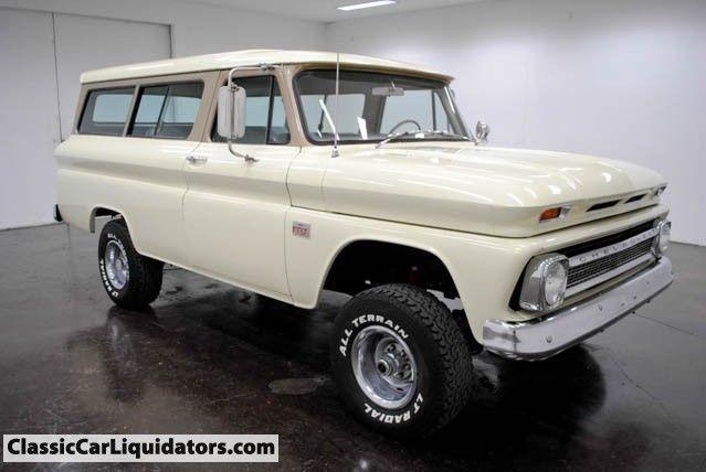 1966 Chevrolet Suburban 4x4 250 I 6cyl 4 Speed Manual Chevrolet Suburban Chevy Classic Chevy Trucks