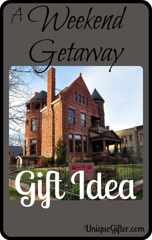 A weekend getaway gift idea weekend getaways gifts and for Weekend get away ideas
