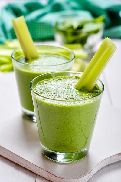 Leckere Abnehmshakes zum selber machen: Probieren Sie unseren Grünen Smoothie zum Abnehmen, sehr gesund und gut für die Figur ...
