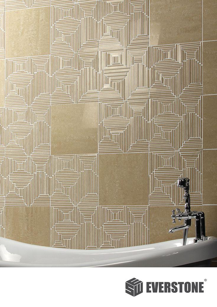 DURASTONE™ CROSSOVER PROCELAIN MOSAICS, Mixed Super Polished + Matt Finish Wall  Tiles. Available