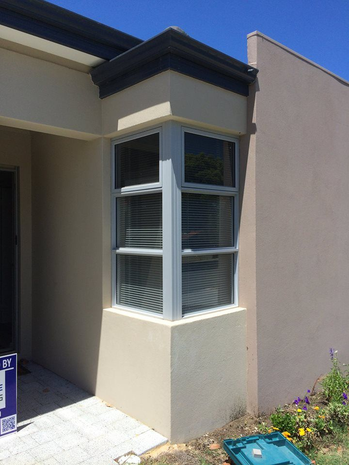 Thought UPVC Double Glazing was only available in white...Think again...........Take a look at these double glazed windows with a silver grey frame we have recently installed.  FREE Quotes 1800 822 207 #Perth #upvcwindows #ADG  http://goo.gl/eiTZwp