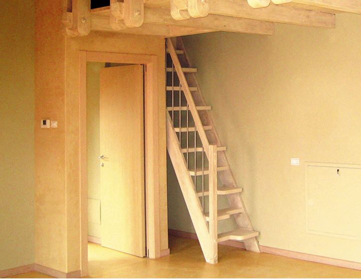 staircase ideas for small spaces beautiful wood staircase in neutral color for small space