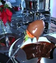 food to serve at a 70s party ~ including chocolate fondue