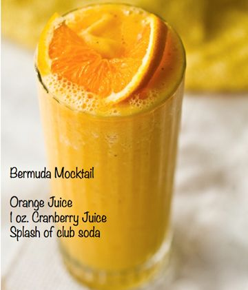 Bermuda Mocktail Signature Drink Non-Alcoholic Perfect for Weddings, Showers & Parties