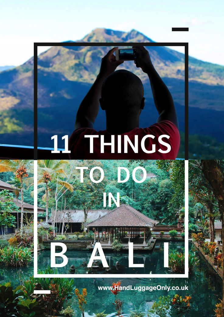 11 Best Places In Bali To Visit
