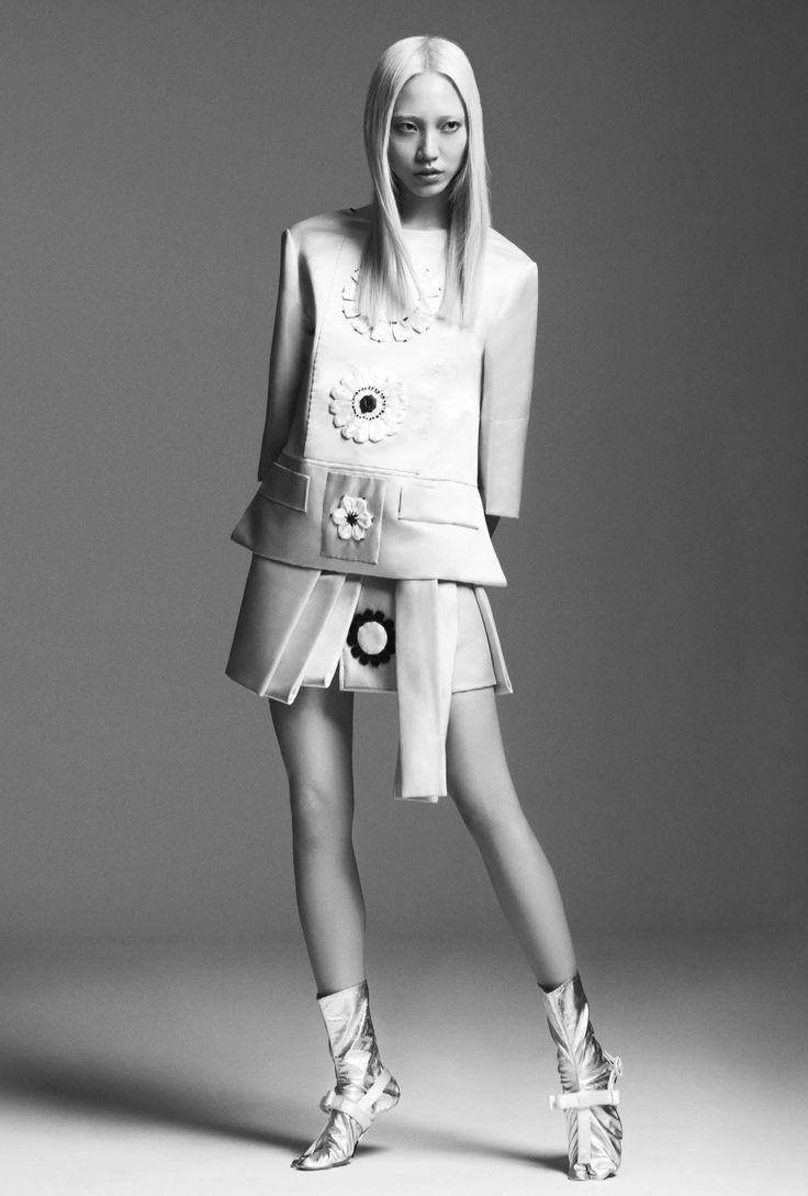 Soo Joo Park in Prada s/s 2013 by Dario Catellani for Lurve  Magazine #7