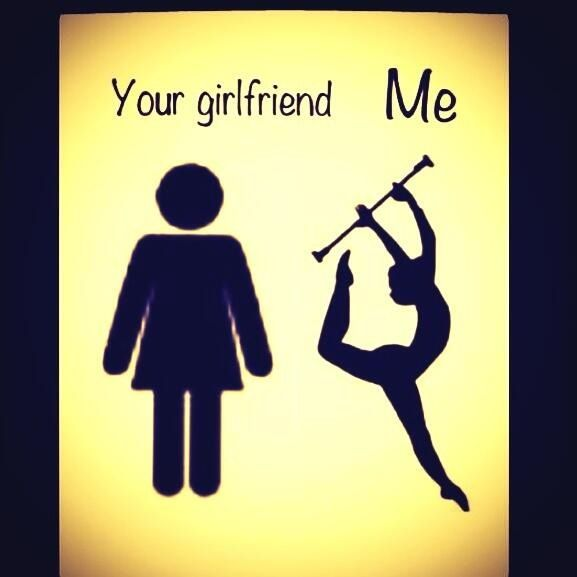 Because baton twirlers are better