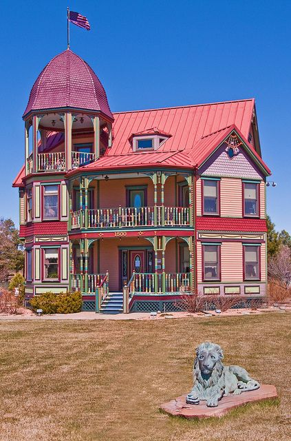 A Victorian style house in the White Mountains of Arizona: Snowflake, Arizona; photo by John Fowler