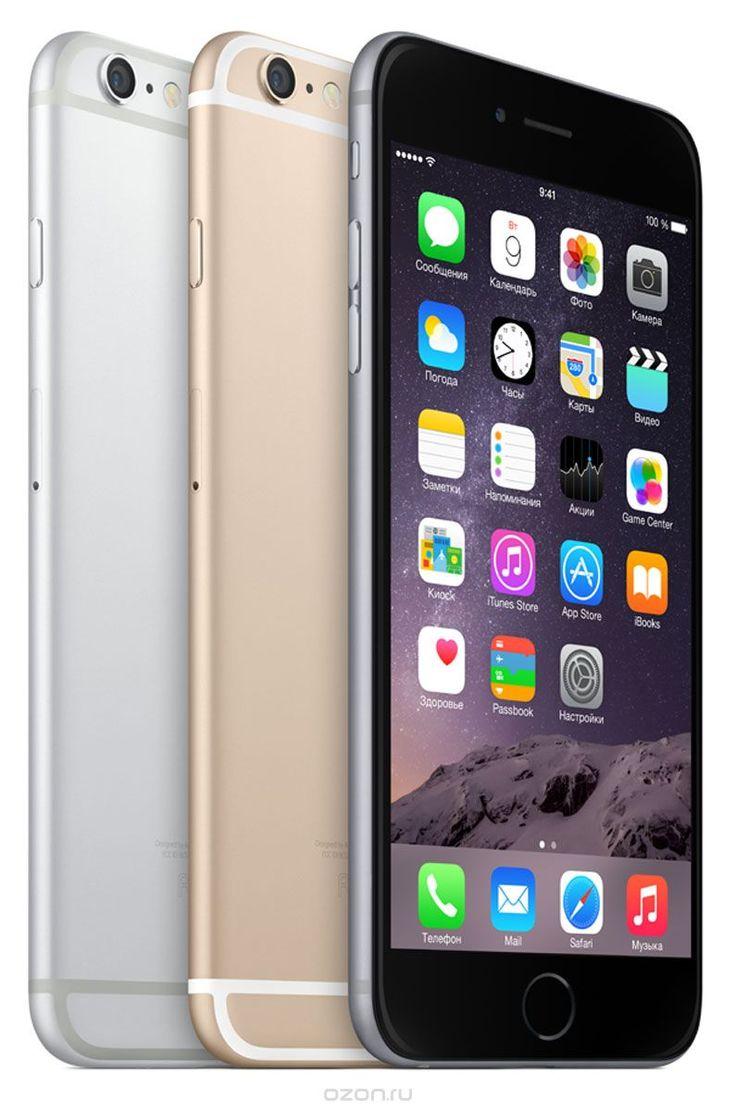 Apple iPhone 6 Plus 16GB, Space Gray - купить в разделе электроника apple iphone 6 plus 16gb, space gray по лучшей цене от интернет-магазина OZON.ru