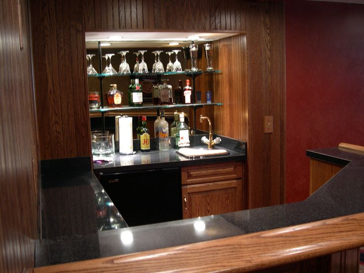 10 best images about coolest diy home bar ideas on pinterest floating glass shelves diy home - Bar built into wall ...