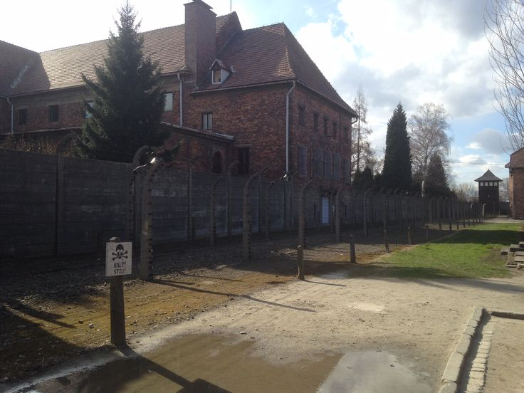 Building inside Auschwitz