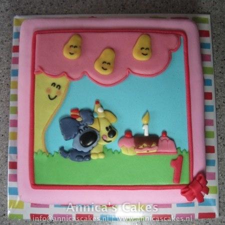 Woezel en pip taart (Maud)