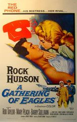 1965 Original American Film Poster, A Gathering Of Eagles 'The Red Phone'