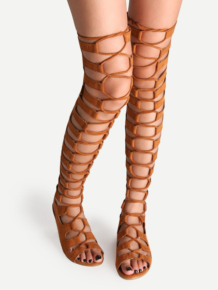 1000  ideas about Thigh High Gladiator Heels on Pinterest ...