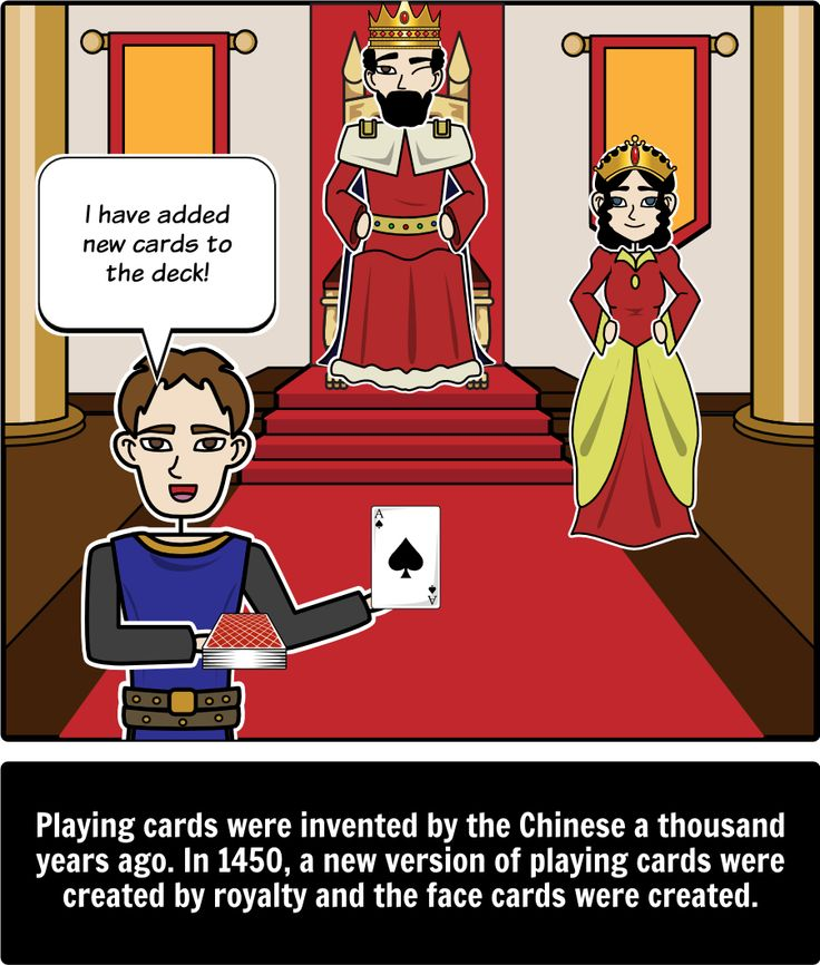 History of Toys - Compare/Contrast: In this activity students will compare and contrast three toys: playing cards, bicycles, and hot wheels. A short summary of the origin of each toy is provided for each of these toys. Here is a close up of playing cards.