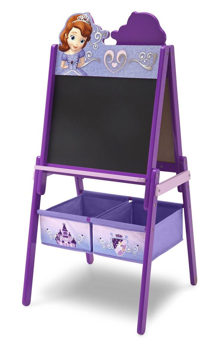 PIZARRA INFANTIL DE MADERA PRINCESA SOFÍA. Doble cara útil. TE87573SF, IndalChess.com Tienda de juguetes online y juegos de jardin
