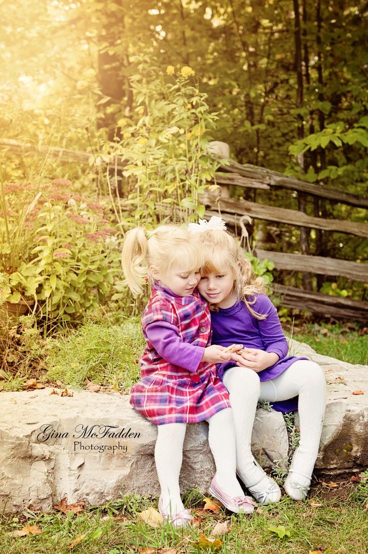 Cute sister pose  Gina McFadden Photography on Facebook
