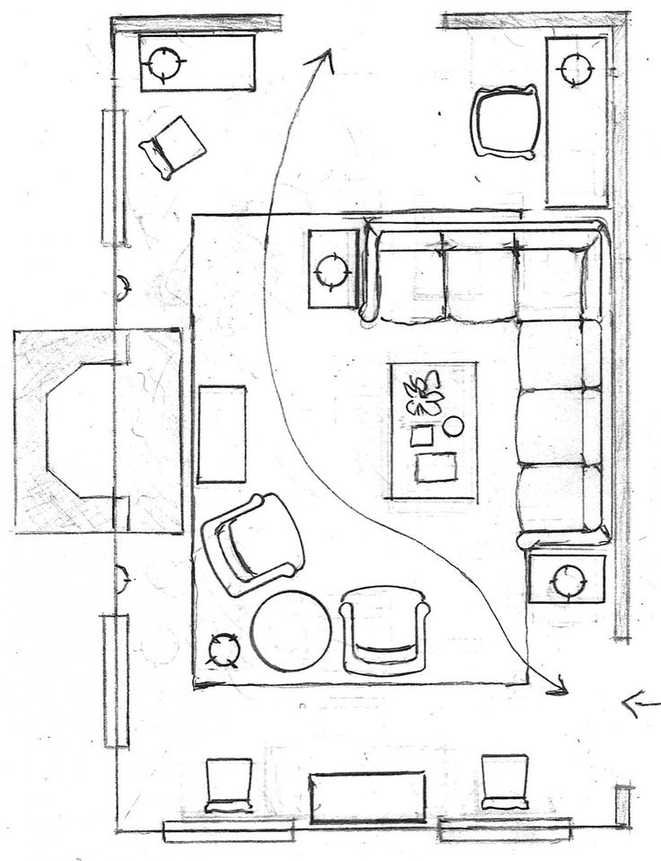 One Living Room Layout – Seven Different Ways!