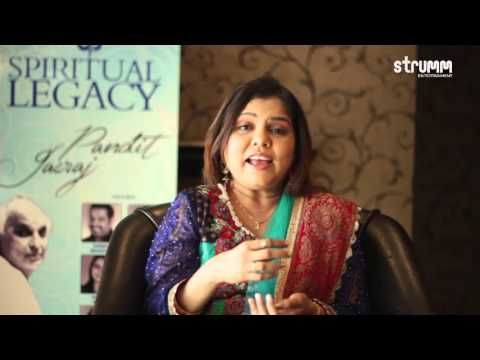 Sadhana Sargam Speaks About Learning Hindustani Classical Music From Pt. Jasraj - http://music.tronnixx.com/uncategorized/sadhana-sargam-speaks-about-learning-hindustani-classical-music-from-pt-jasraj/ - On Amazon: http://www.amazon.com/dp/B015MQEF2K