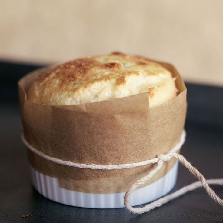 Goat Cheese and Chive Soufflé | Williams-Sonoma
