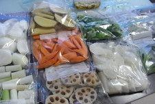 楽々で便利すぎる!「野菜」を冷凍して、美味しく時短料理に!お弁当に!離乳食に!