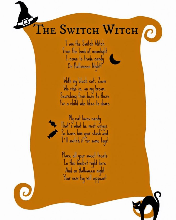 Image result for switch witch poem
