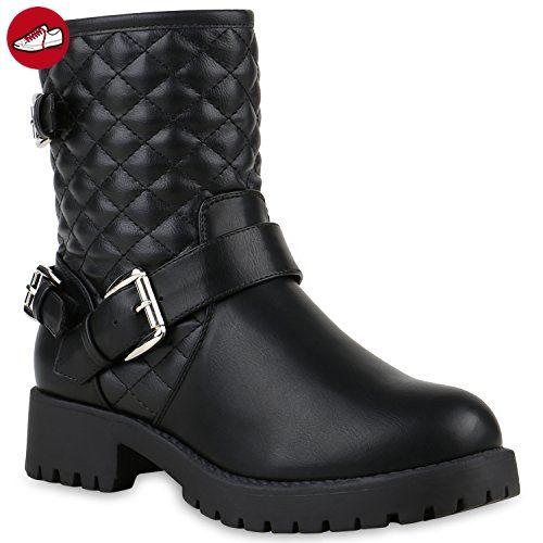 Stiefel damen schwarz 37