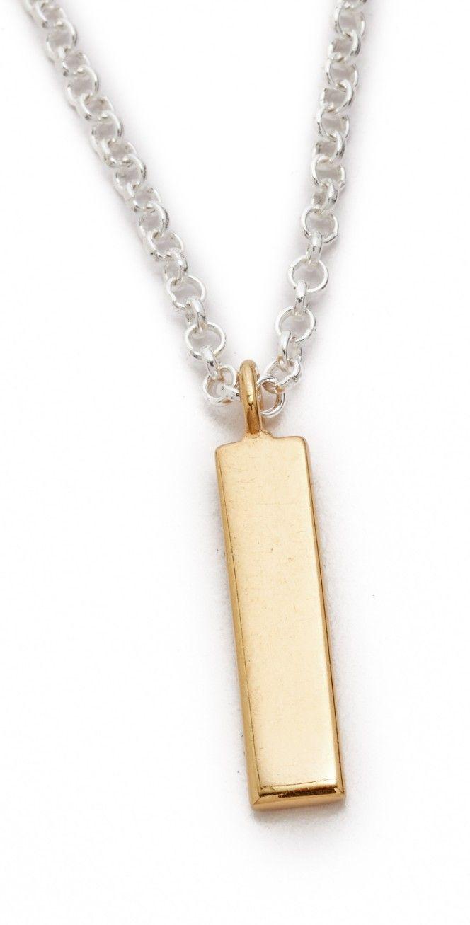 Maya Magal Bar Charm Necklace | SHOPBOP