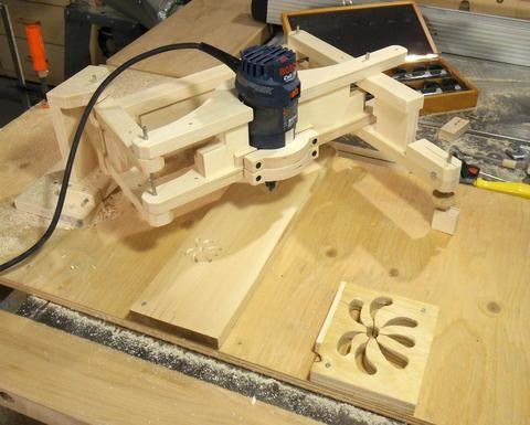 Pantógrafo copiador para fresadora rebajadora canteadora.
