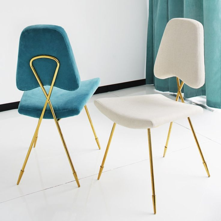 modern dining chairs with a glass base decoist