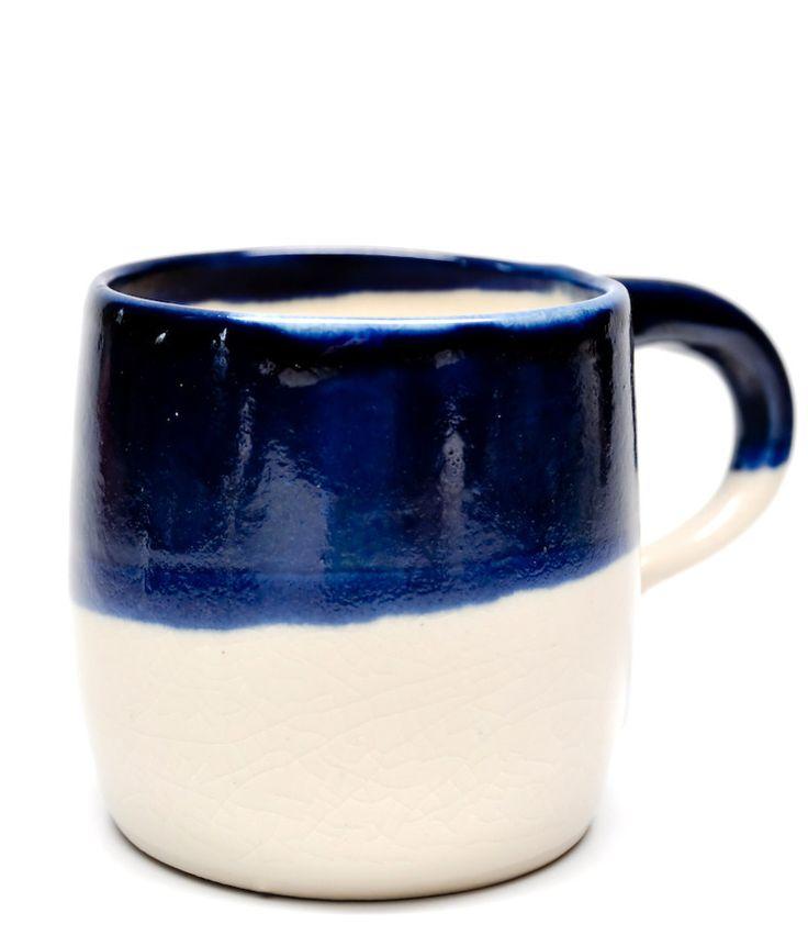 Indigo Dipped mug by Rachel Howe of Small Spells