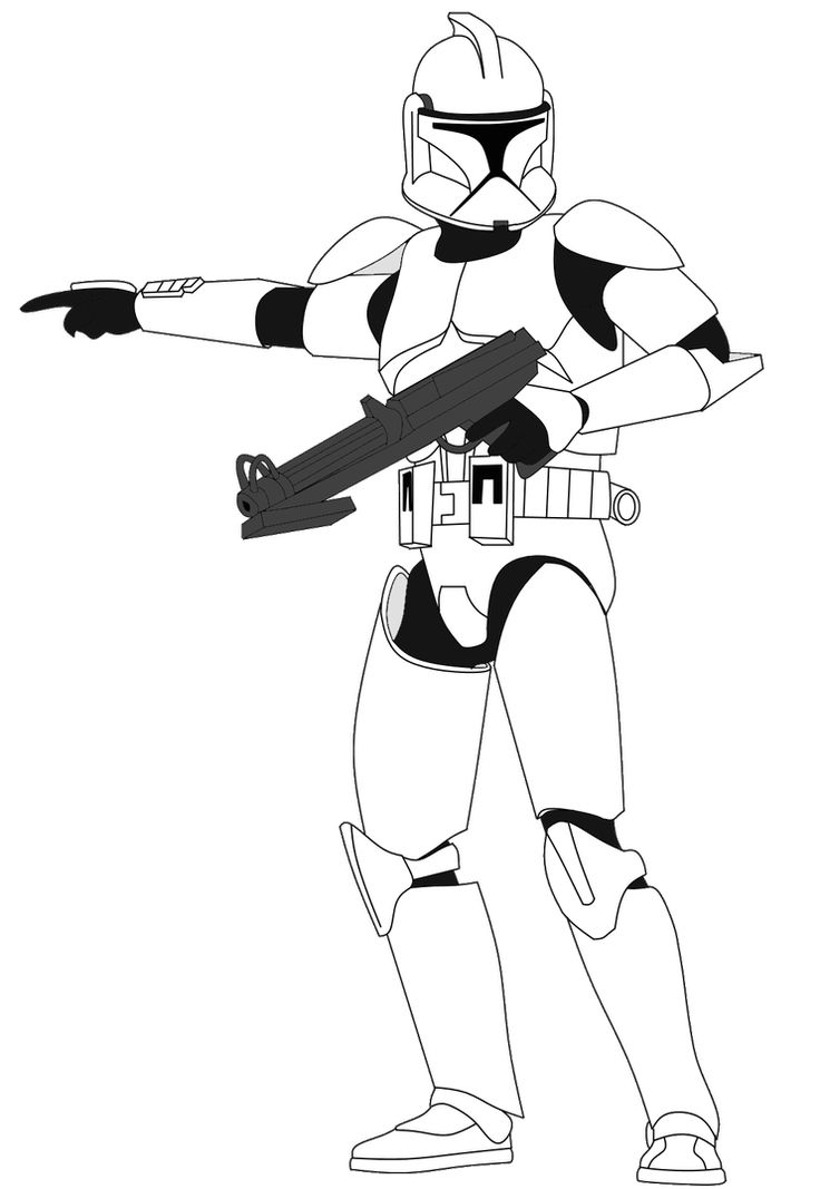 Clone Trooper With Dc 15s V3 By Fbombheart On Deviantart Star Wars Pictures Star Wars Drawings Star Wars Background